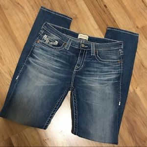 "Women's Light Fade ""Big Star"" Straight Leg Jeans!"